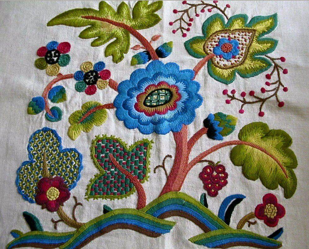 Elsa Williams Jacobean Embroidery