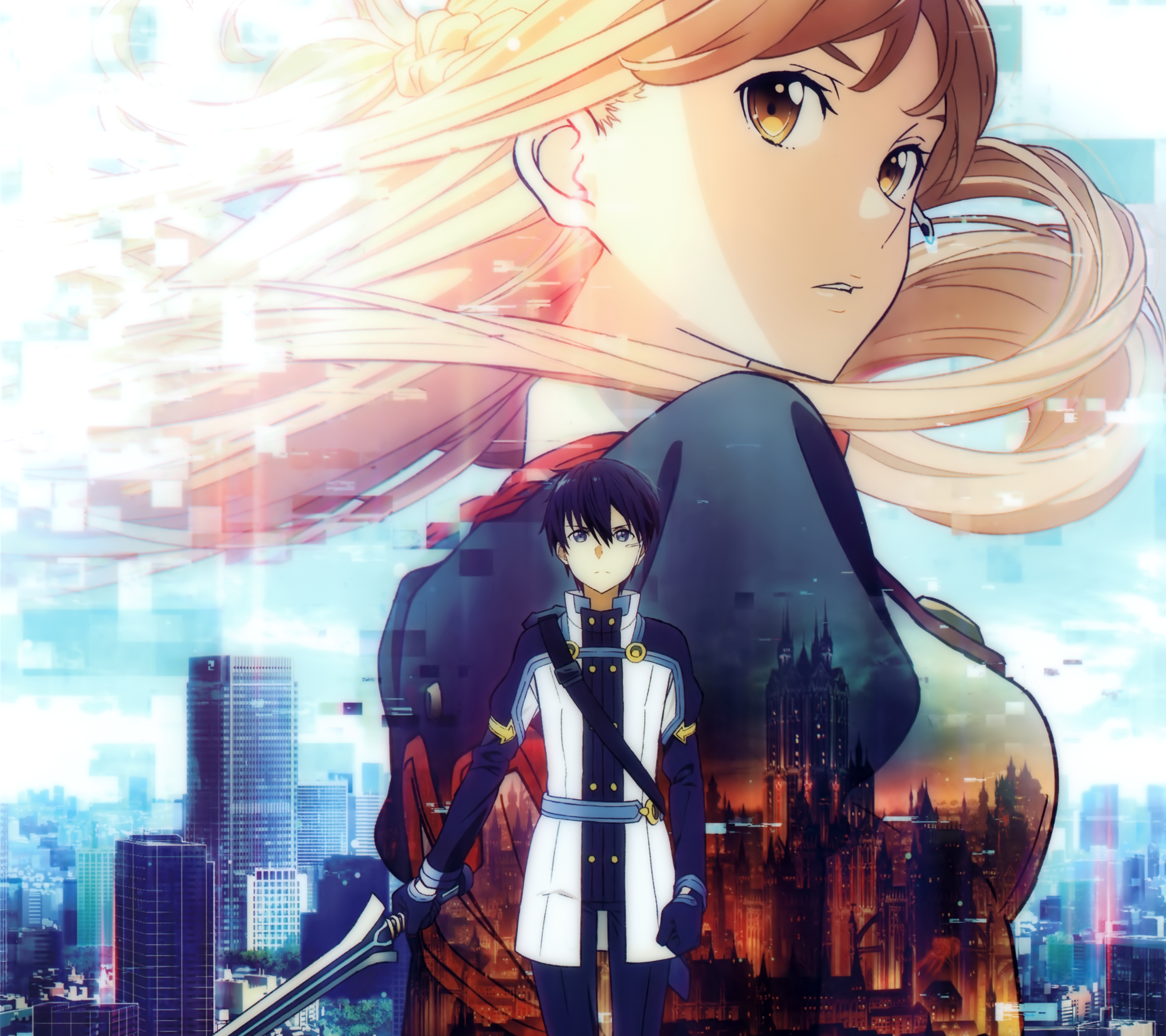 Pin By Rocki On Sao In 2020 Sword Art Online Wallpaper Sword Art Online Movie Sword Art Online Season