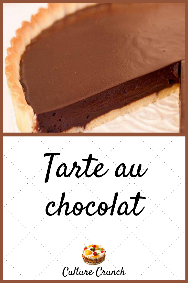 TARTE AU CHOCOLAT : la recette facile et raffinée