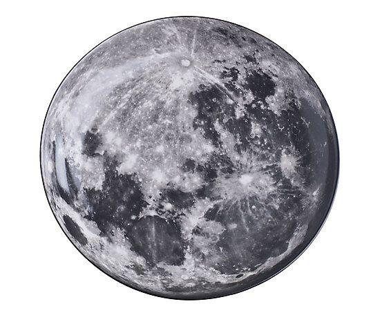 Prato Decorativo Lua - 30cm