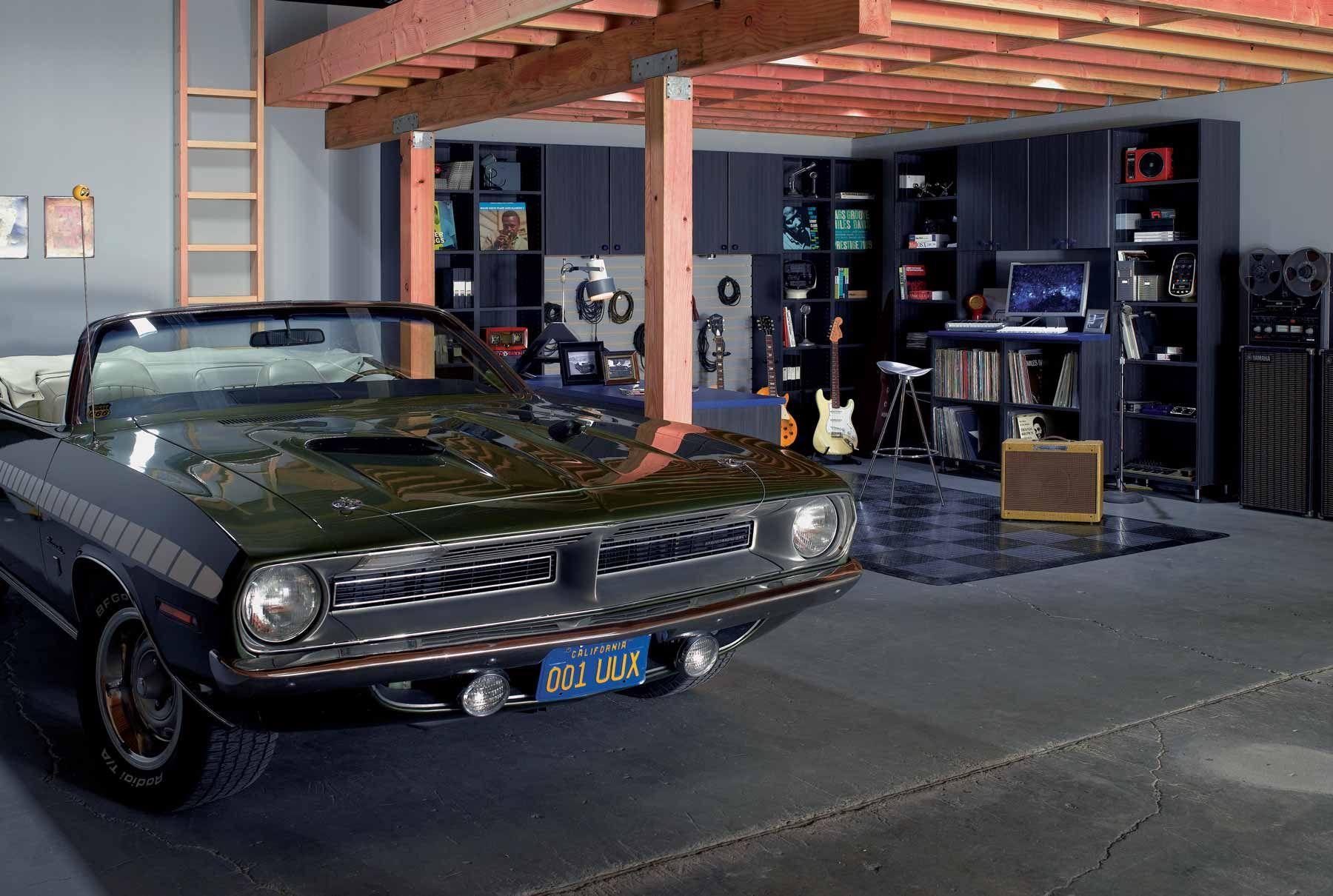 Garage Closets & Storage Design Ideas in 20  Man cave garage