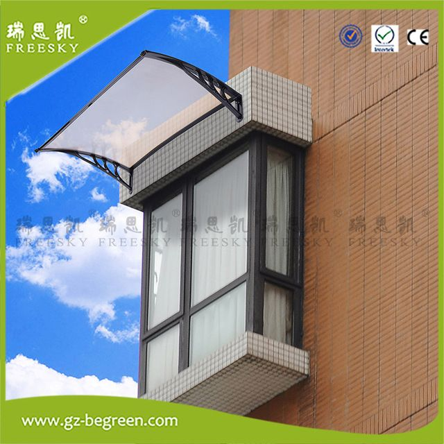 Outdoor Polycarbonate Front Door Window Awning Patio Cover Sun UV Canopy & Outdoor Polycarbonate Front Door Window Awning Patio Cover Sun UV ...