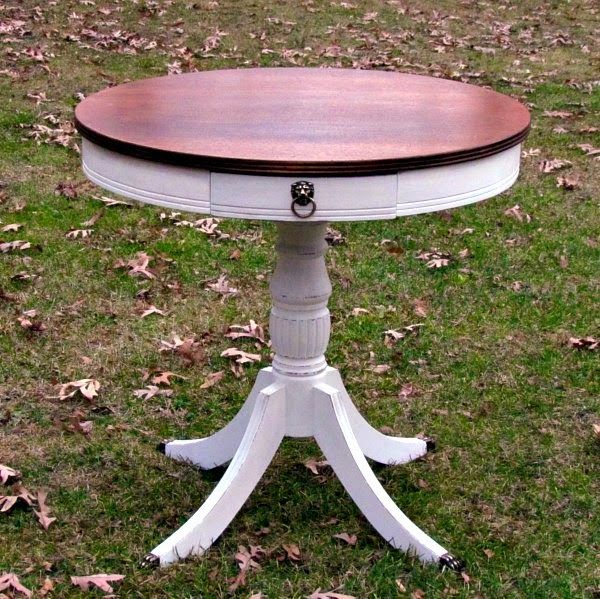 Have a couple of these tables - like the idea of natural top