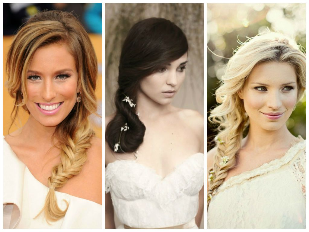 wedding hairstyles for a round face shape | hair and makeup