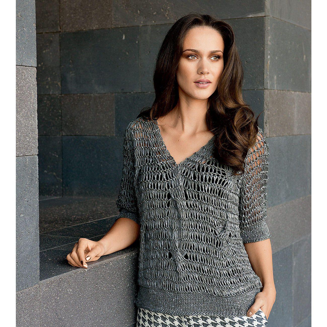 Modell 065/6, Pullover aus Roma von Lana Grossa | Stricken und ...
