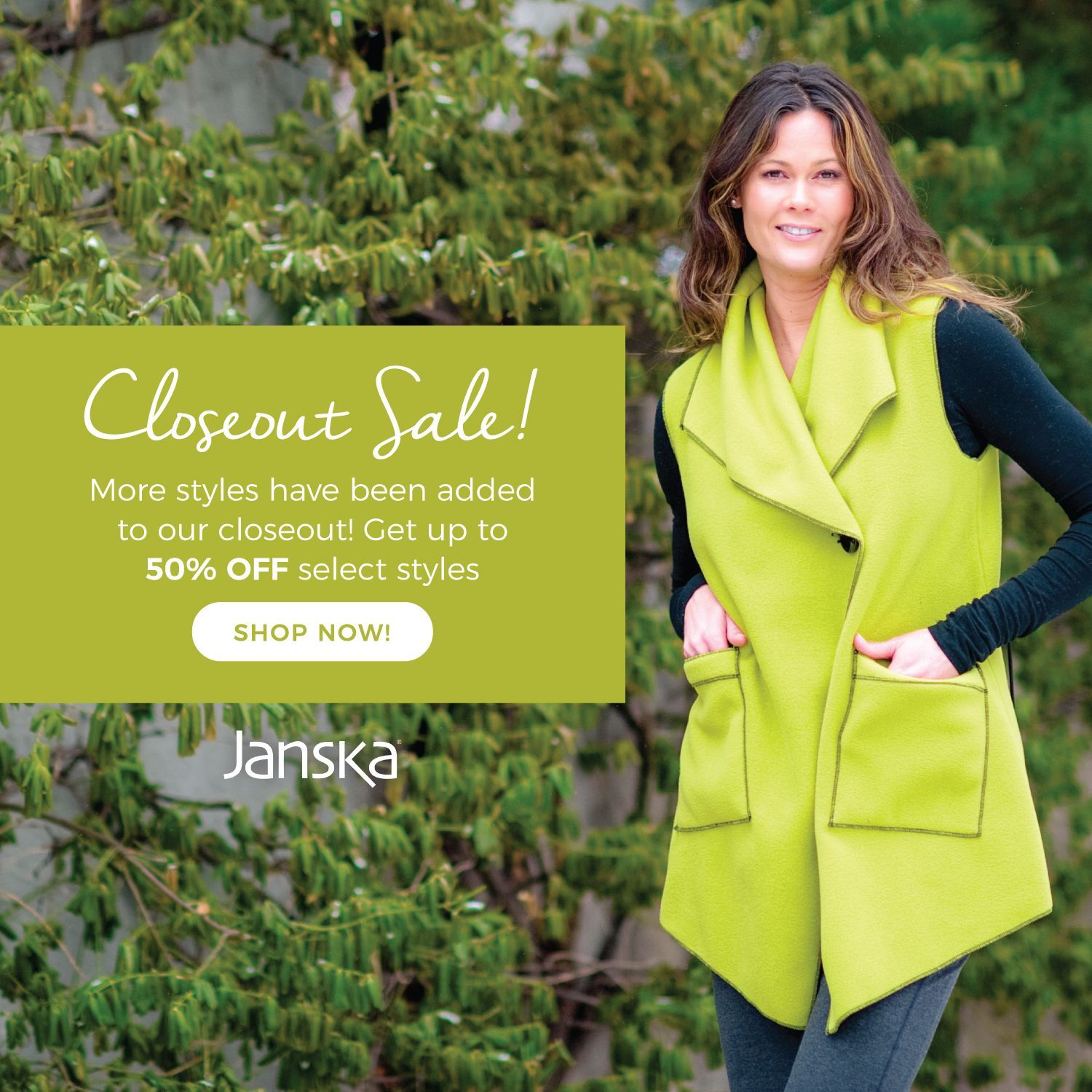 Closeout sale more styles have been added to our closeout