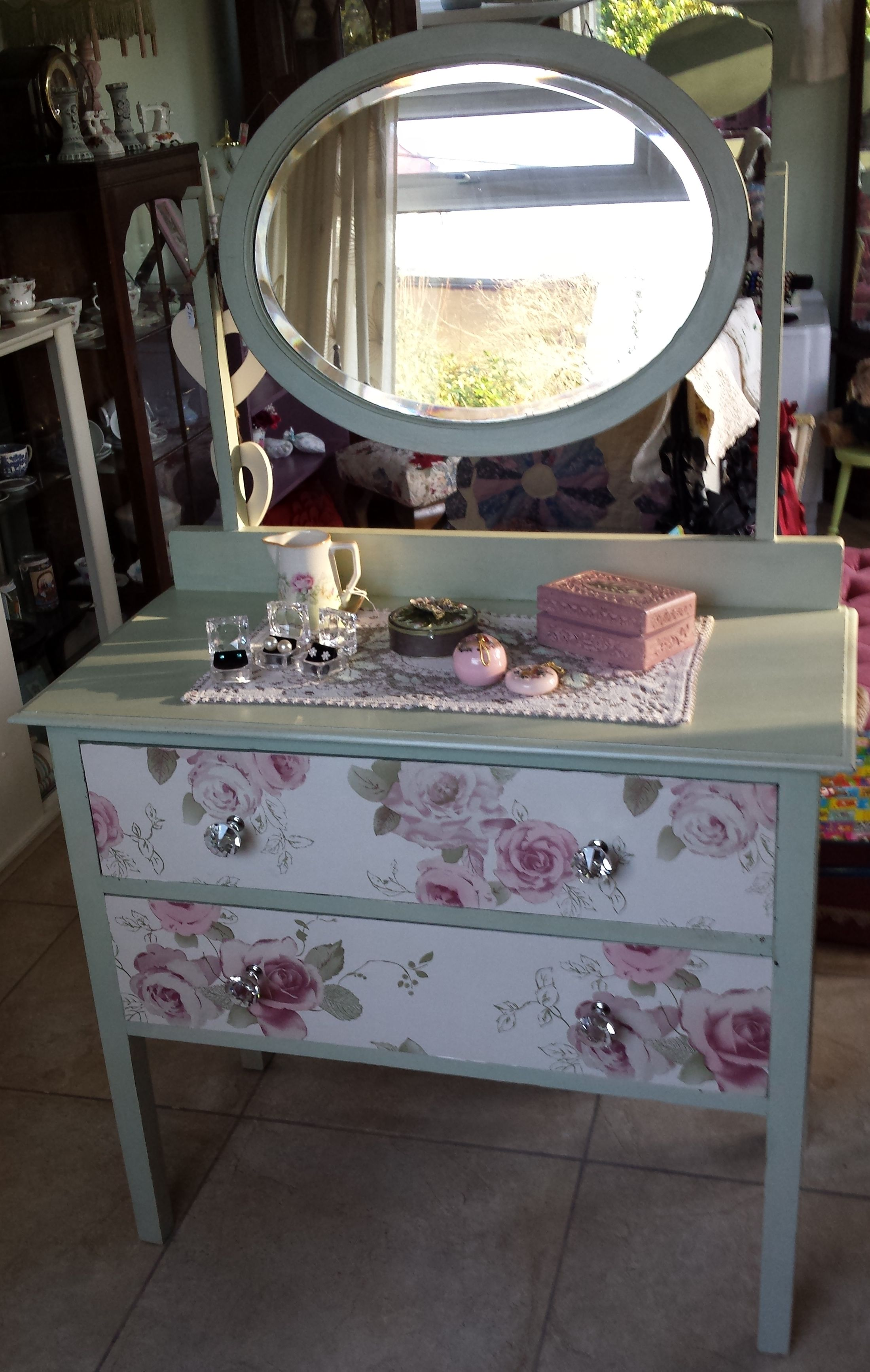 Stunning Vintage Dresser With Mirror For Sale Check Out Www