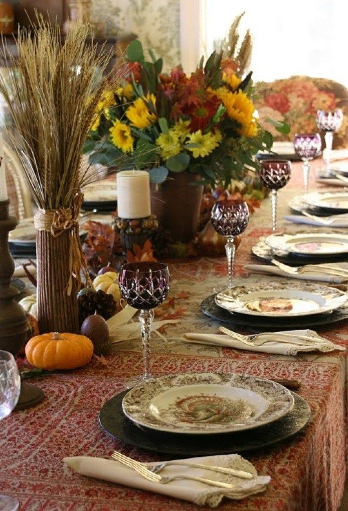 Thanksgiving Table Setting Ideas & Thanksgiving Table Setting Ideas | Table settings Thanksgiving and ...
