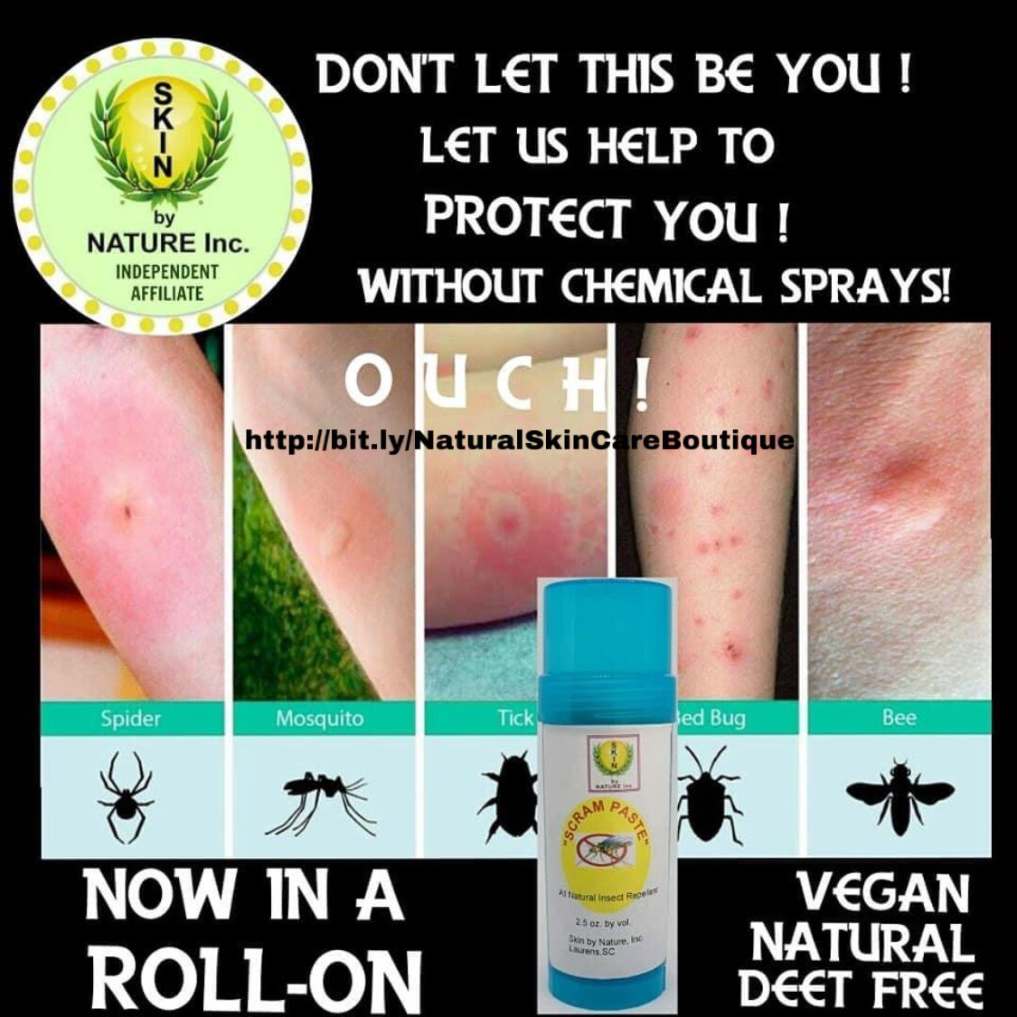 #scram #repellent #allnatural #insect #giftideas #affordable