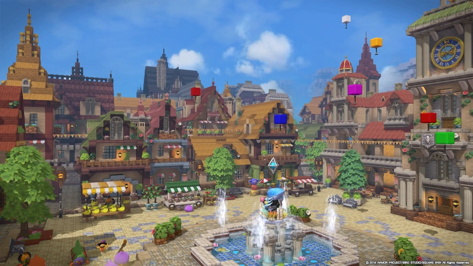 ビルダーズギャラリー ドラゴンクエストビルダーズ2 Square Enix シドー 建築モデル 都市デザイン