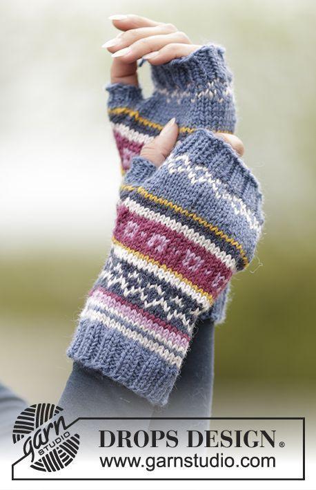 Free Pattern | knitting fair isle | Pinterest | Pulswärmer, Stulpen ...
