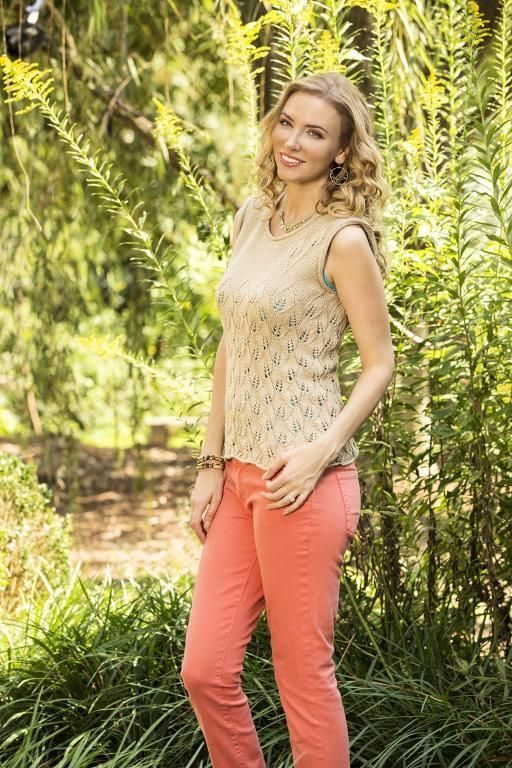 10 Lovely Womens Top Knitting Patterns For Summer Summer Tops