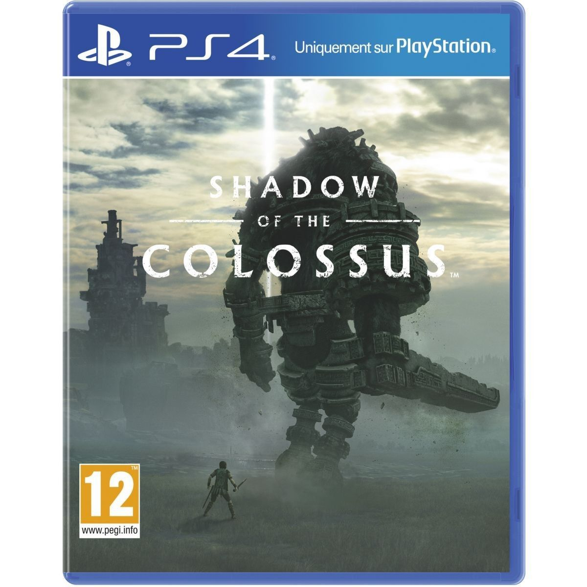Jeu Ps4 Shadow Of The Colossus Taille Taille Unique Jeux Ps4