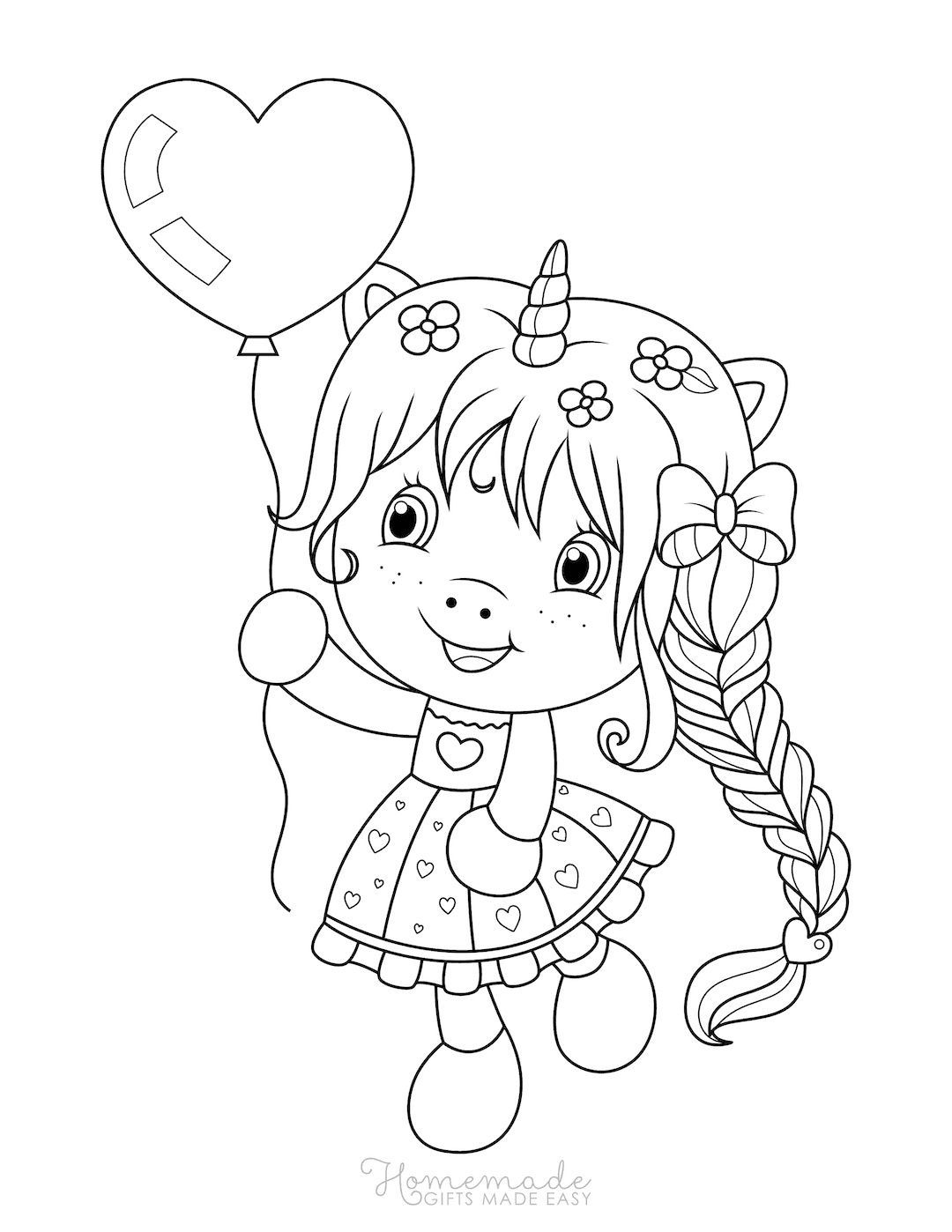 75 Magical Unicorn Coloring Pages For Kids Adults Free Printables Kleurplaten