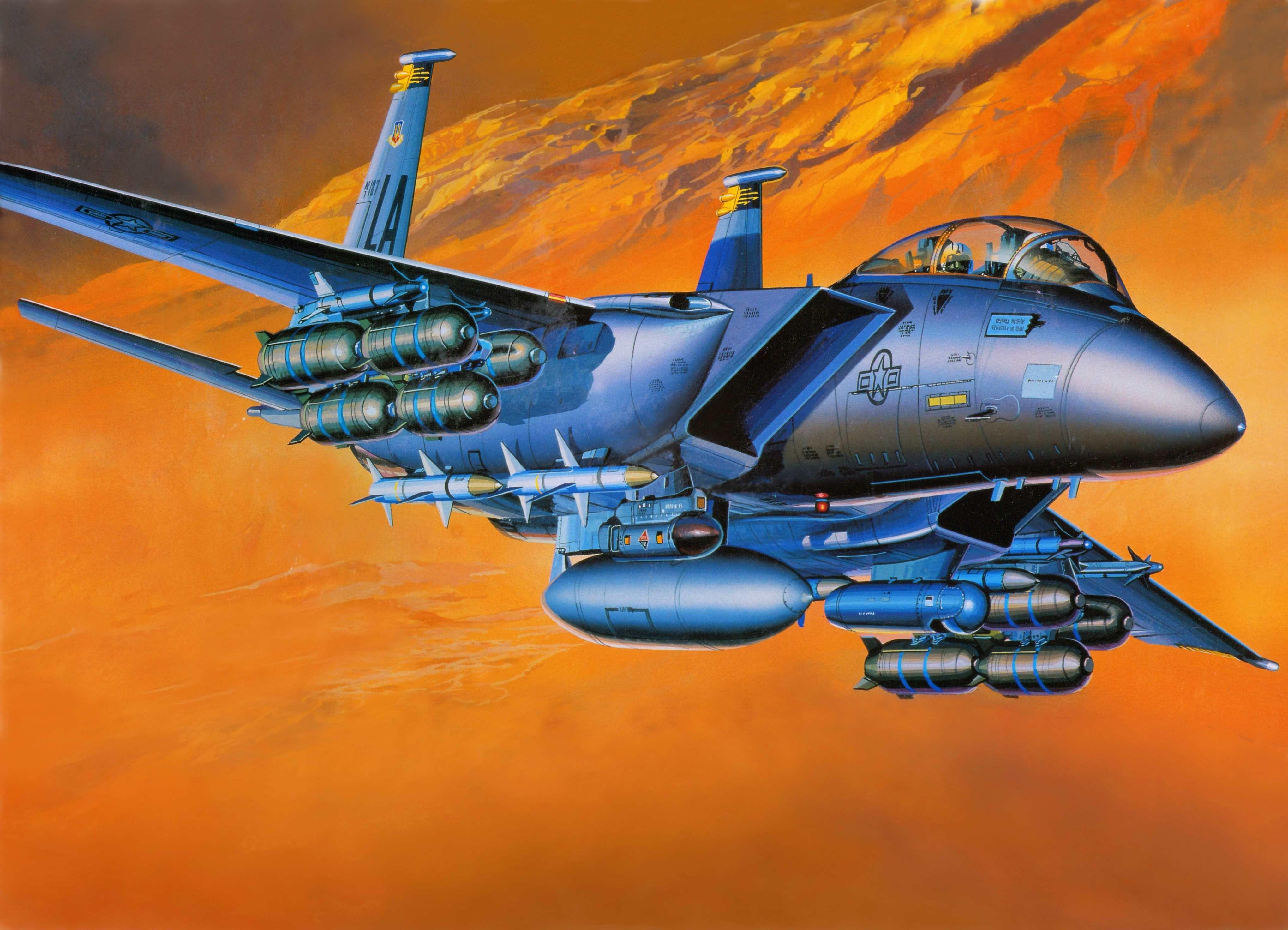 1421104 Mcdonnell Douglas F 15e Strike Eagle Category Quality