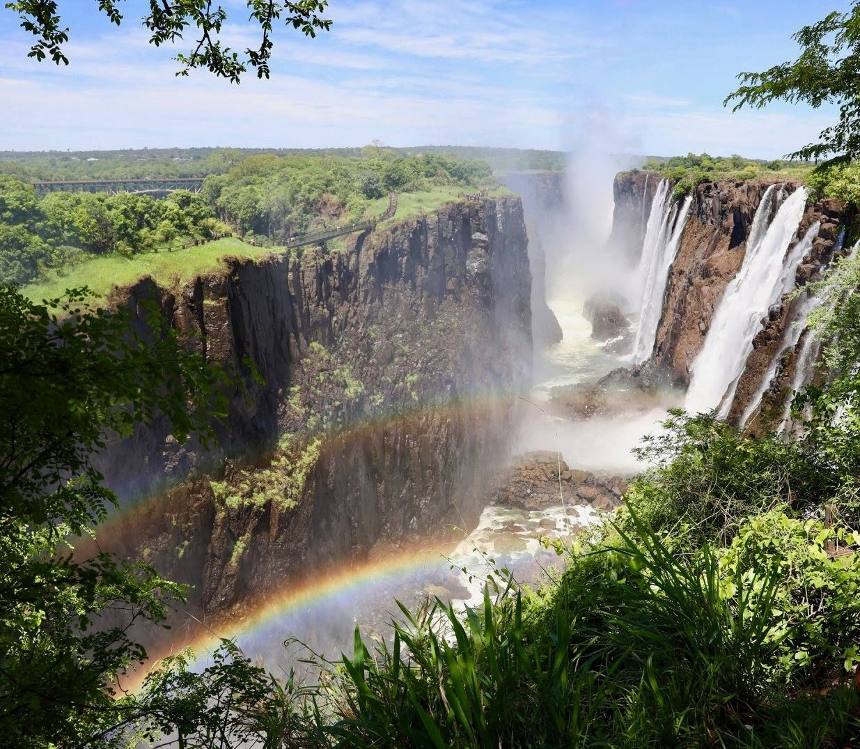 Guest Natalie Borrok Harder Travelled With Us Over The December Holidays Starting At The Wonder That Is Mosi Oa Travel Photography African Travel Photography