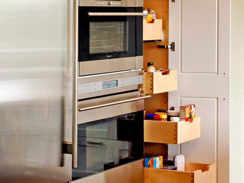 Kitchen Freestanding Pantry Cabinet Ikea With Freestanding Pantry ...