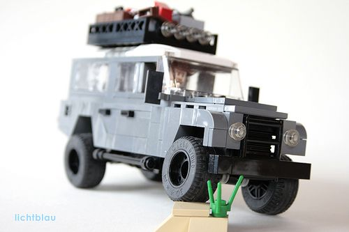 Land Rover Defender 03 Land Rover Lego Truck Land Rover Defender