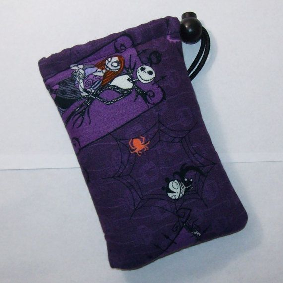 pipe pouch nightmare before christmas pipe bag by pouchapaloozacom - Nightmare Before Christmas Pipe