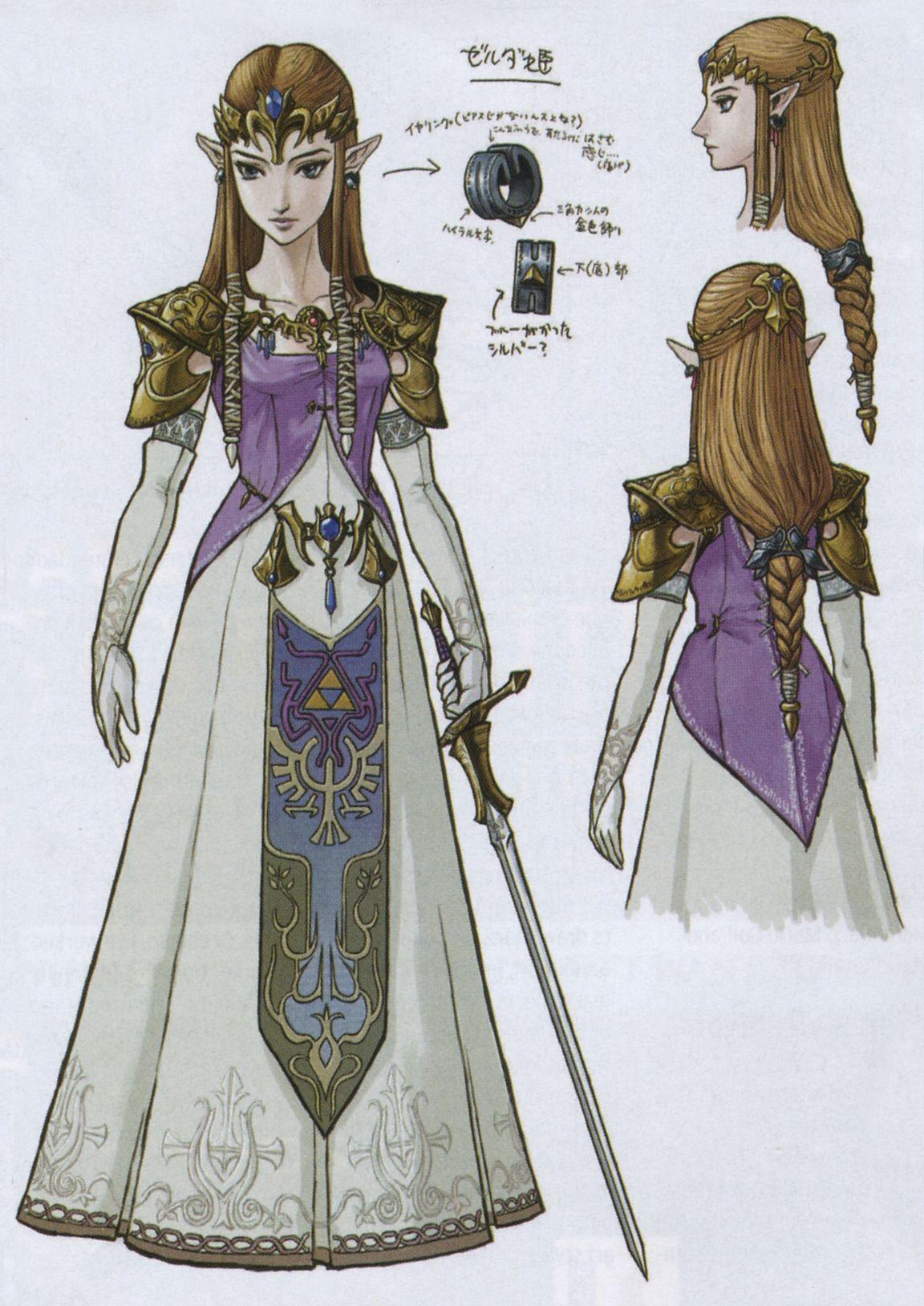Zelda's Hairstyle Princess zelda costume, Zelda twilight
