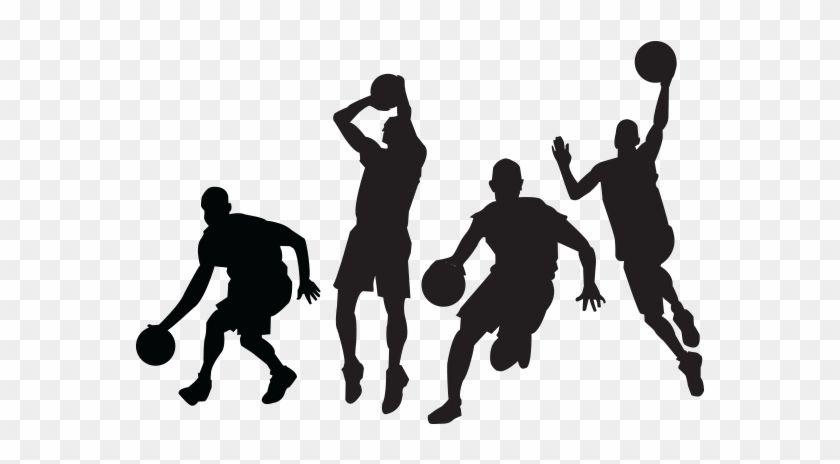 Basketball Jump Shot Sport Clip Art Basketball Player Silhouette Vector 78303 Silhouette Vector Basketball Players Sports Clips