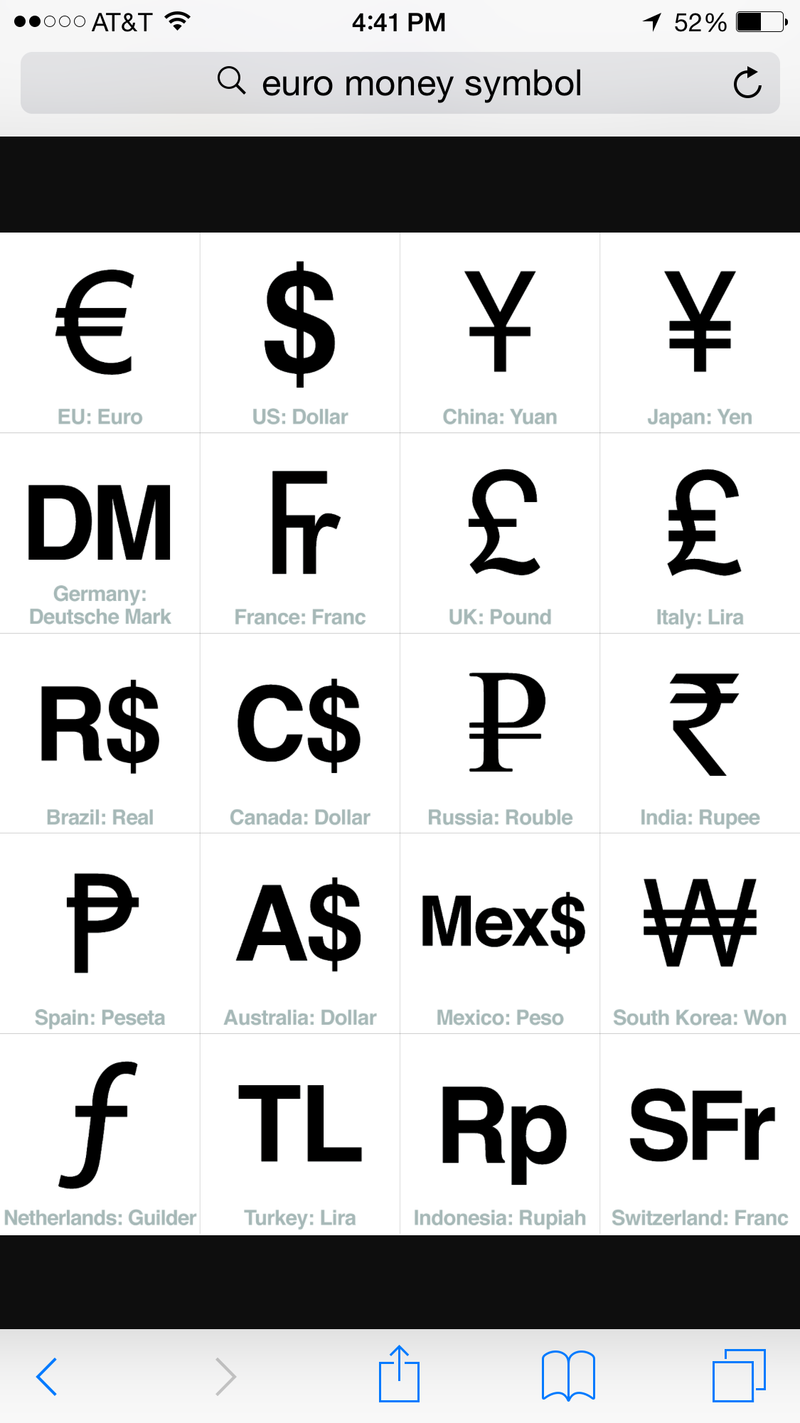 Pin By Noralee Peterson On Abc Pinterest Symbols Currency