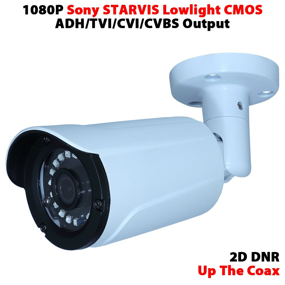Sony STARVIS CMOS sensor IMX291 ultra low light security camera