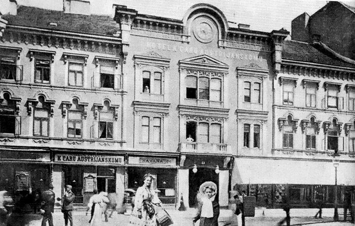 Zagreb 1867 Ilica Hotel K Austrijskom Caru Zagreb Vintage Photos Photo