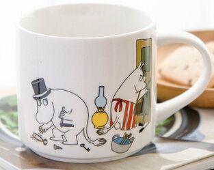 Новое поступление 350 мл большой фарфор керамическая муми Muumi мультфильм мило молочные завтрак чай чашку кофе коллекция подарков купить на AliExpress