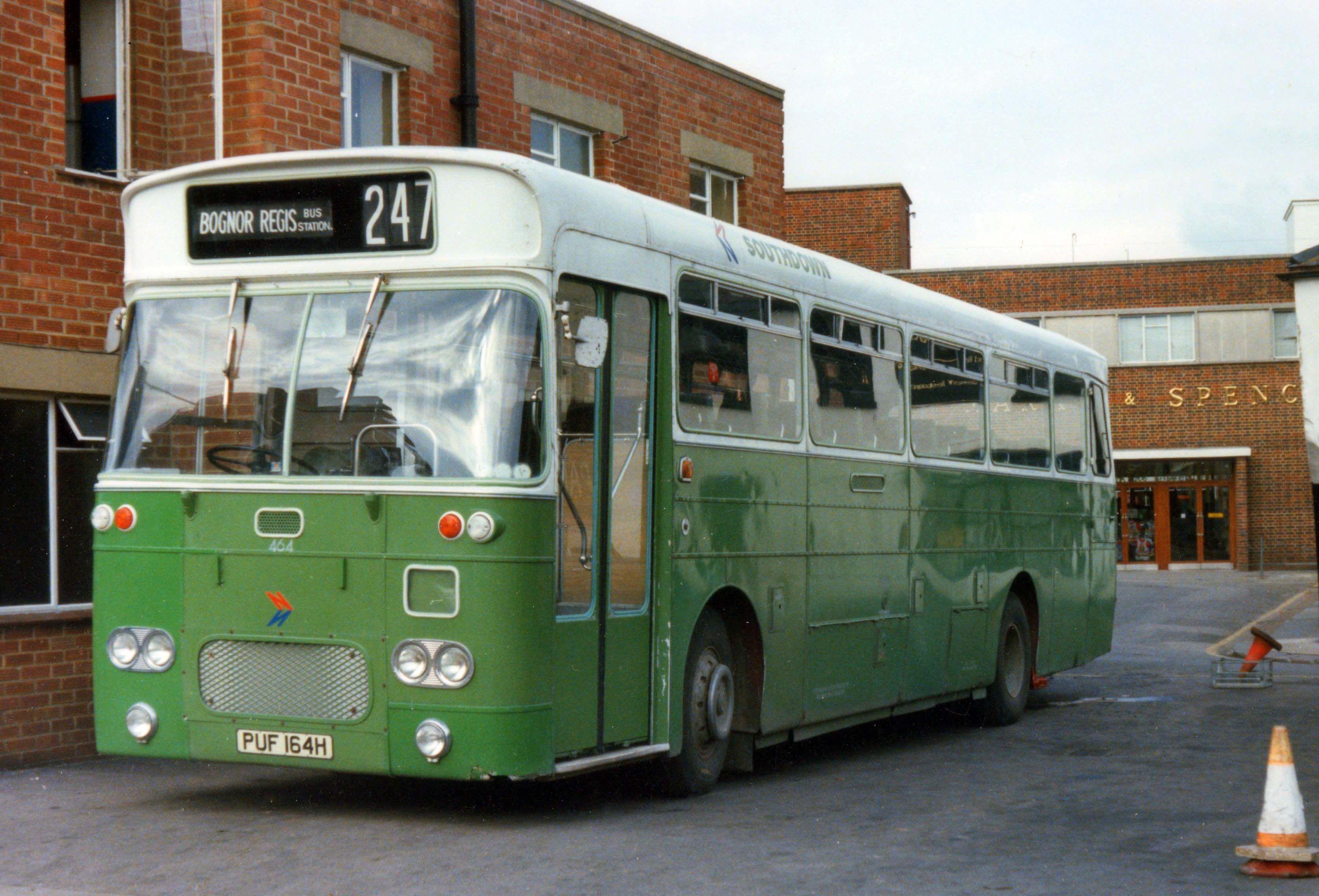 Bognor 247 Bus With Images Bus Bognor Regis Seaside Towns
