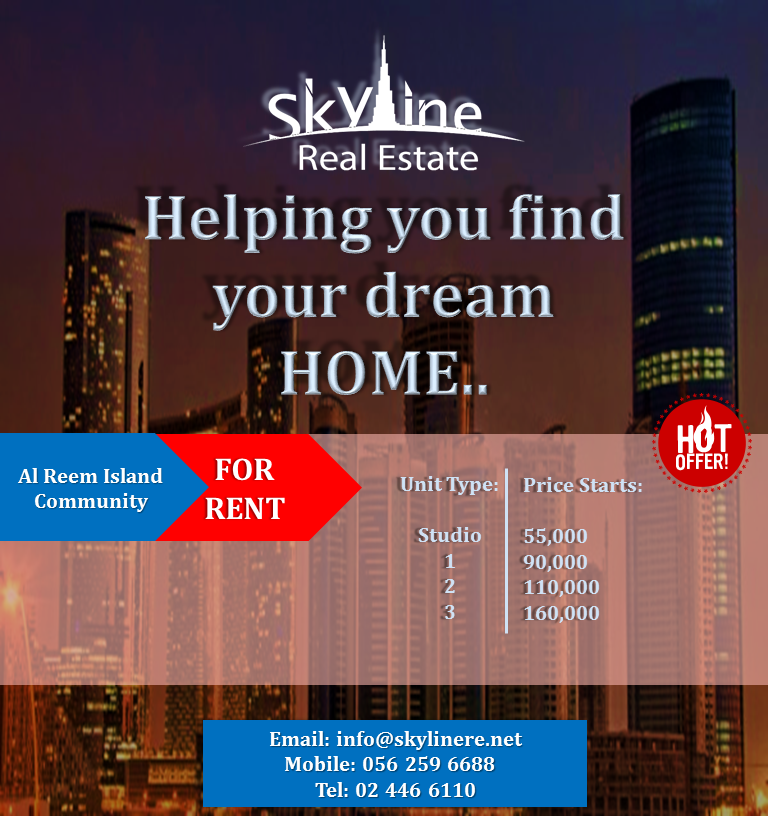 High Class living for a low cost. RENT NOW!!! Call Us: 02-446-6110 / 056-259-6688 Visit : http://www.skylinereb.com/  #Realestatebrokers #ads #realestatemarketing #realestateproperties #sale #invest #investments #inadbudhabi #adudhabi #dubai #uae #unitedarabemirates #simplyabudhabi #myAbuDhab #iloveabudhabi