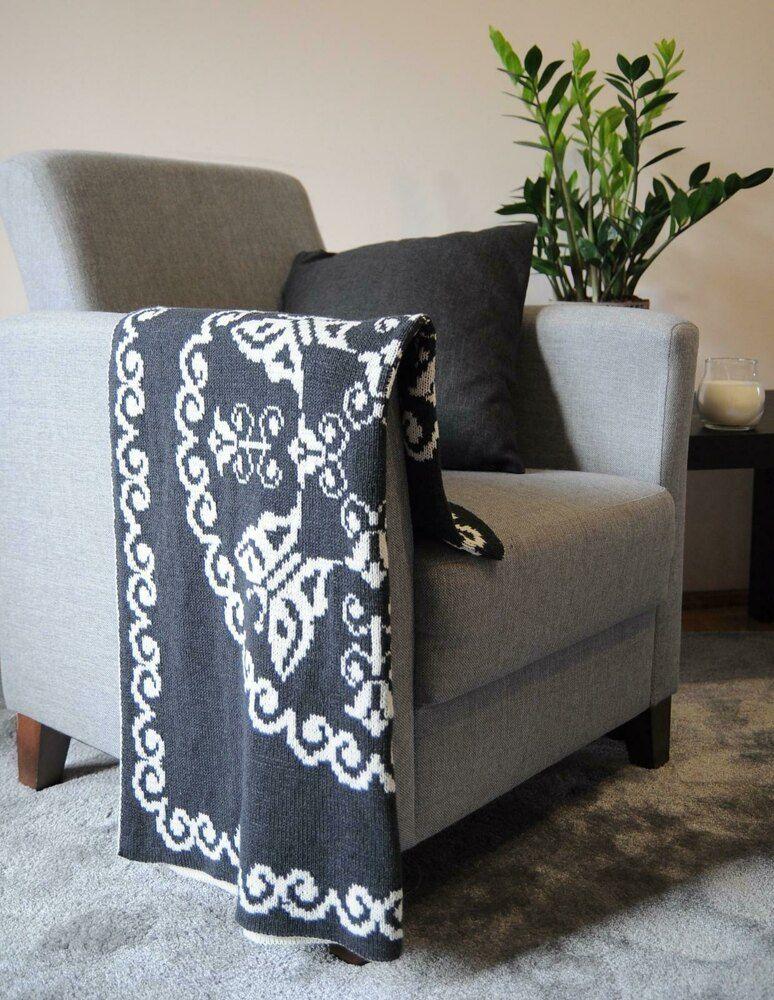 93ea11b5291 Doily Blanket Knitting pattern by Zielony Tulipan