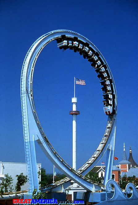 The Tidal Wave - Six Flags Great America  I can remember riding this