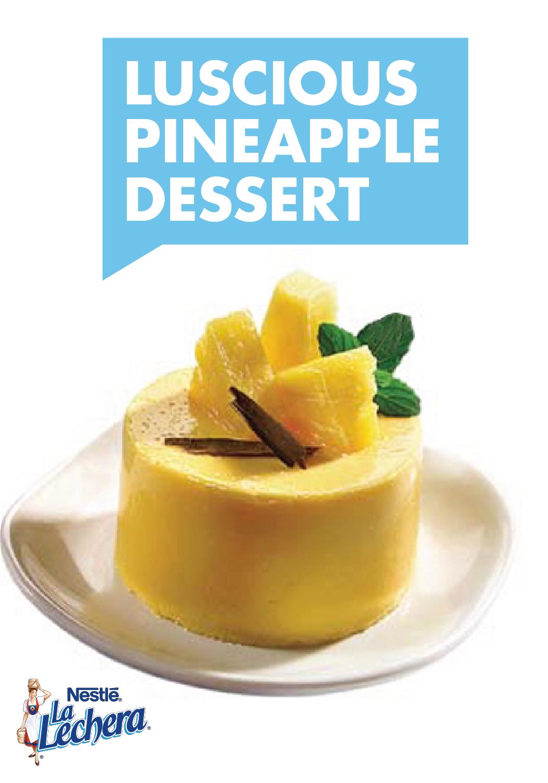 Photo of Luscious Pineapple Dessert