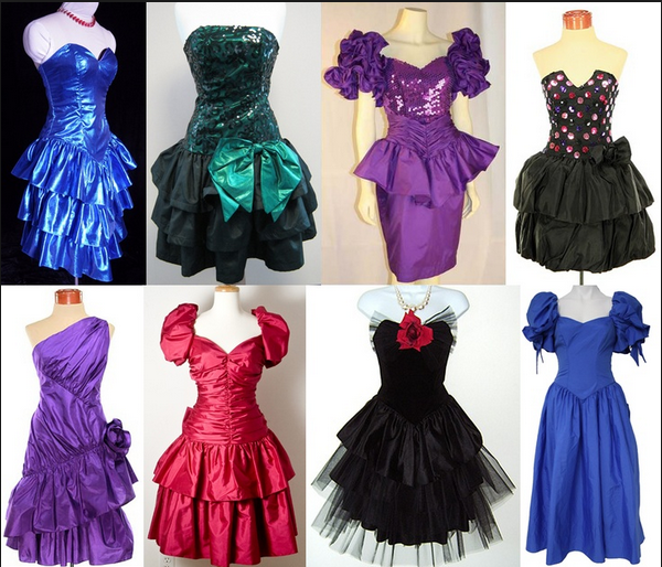 Not your momma 39 s prom dress at jenjenhouse comebacks for 80s prom decoration ideas