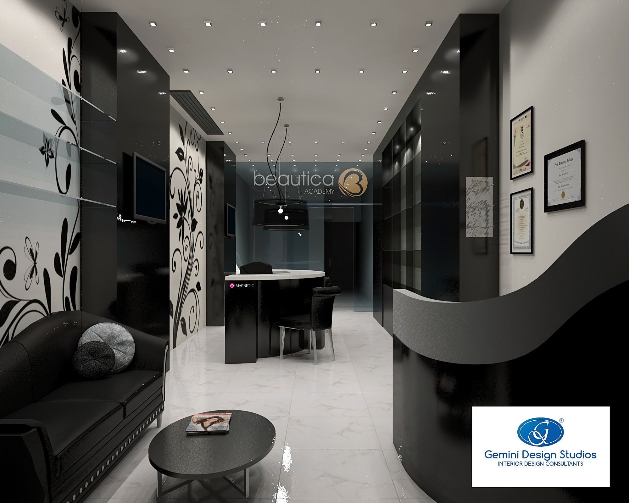 creating a modern nail salon teeming with elegance - location