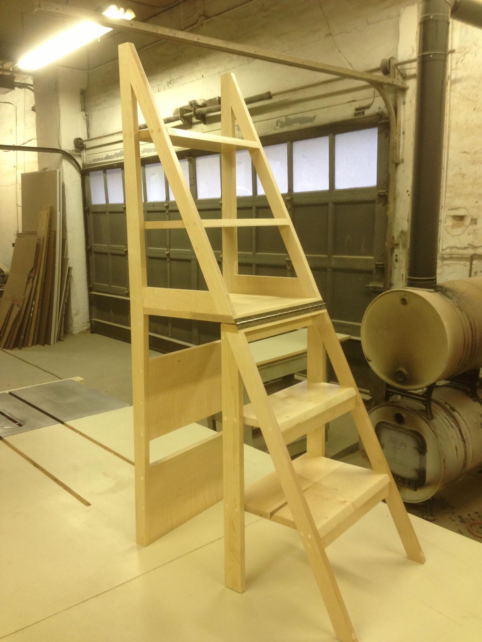 Custom Fold Away Ladder G Ladder Pinterest Custom Furniture # Muebles Sapateras