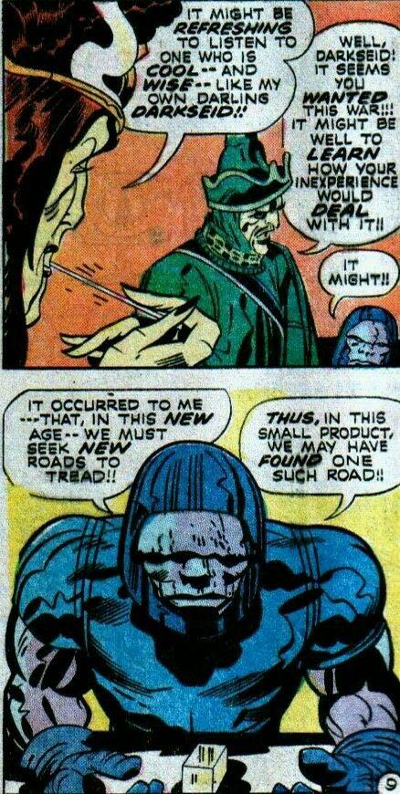 Darkseid And General Steppenwolf With Queen Heggra Darkseid New Gods Evil