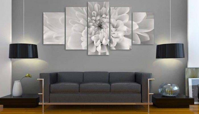 10 consejos para decorar con cuadros un sal n comedor - Decorar un salon grande ...