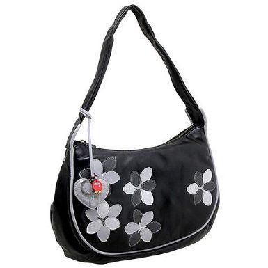 59c6fd381603 Yoshi Handbag Bellerose Black Leather Shoulder Bag