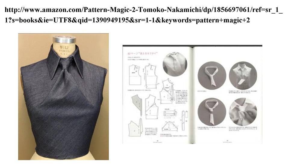 wardrobechallenge http://www.amazon.com/Pattern-Magic-2-Tomoko ...