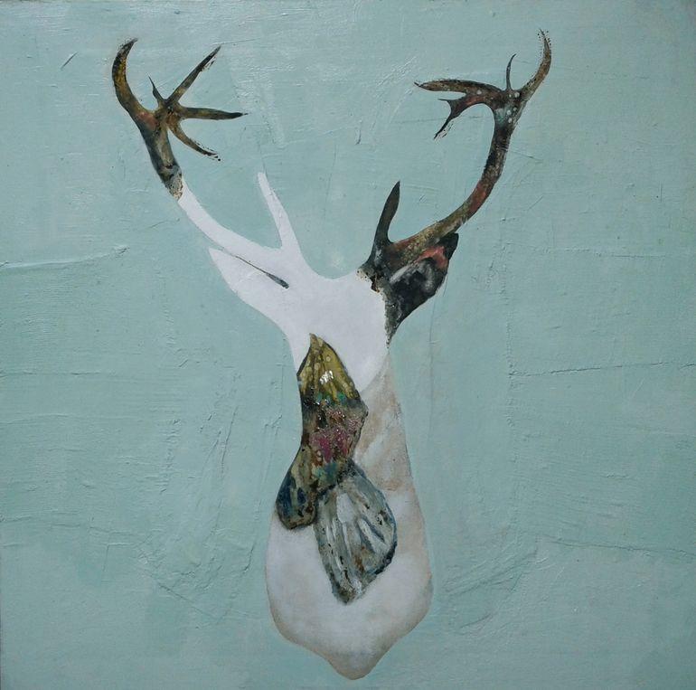 """Karenina Fabrizzi; Fabric Painting """"Cesare II"""""""