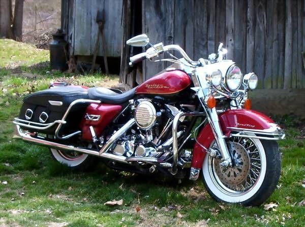 1998 Harley Davidson Road King #harleydavidsonbagger #harleydavidsonbaggerspictures
