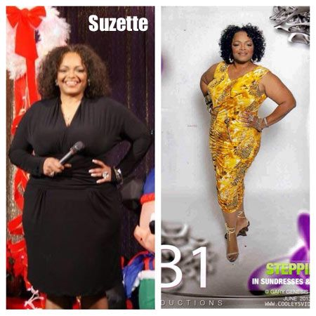 suzette lost 30 pounds  before and after weight loss