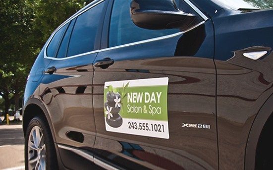 Custom Car Magnets From Signazon Com Perfect For Advertising A