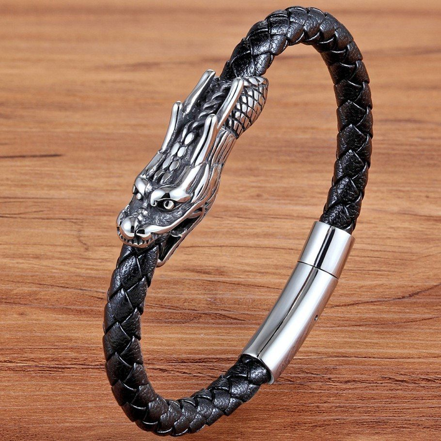 Bangles/&Bracelets Scorpion Silicone Men/'s Gift Jewelry Steel Stainless