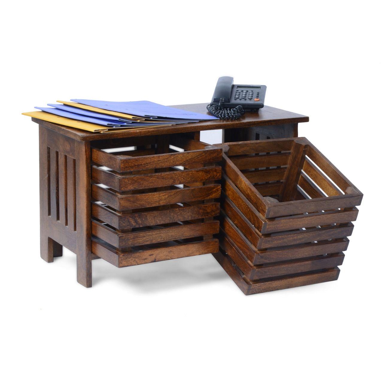 #woodentable #officetable #worktableforhome #handcraftedwoodenworktable #woodenwritingdesk #woodentablewithstorage #solidwooddesk #homeofficefurniture #woodenfurniture