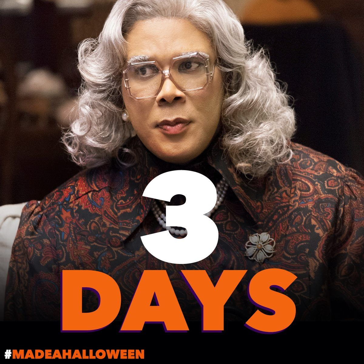 Boo! A MadeaHalloween arrives in 3 DAYS! Grab your