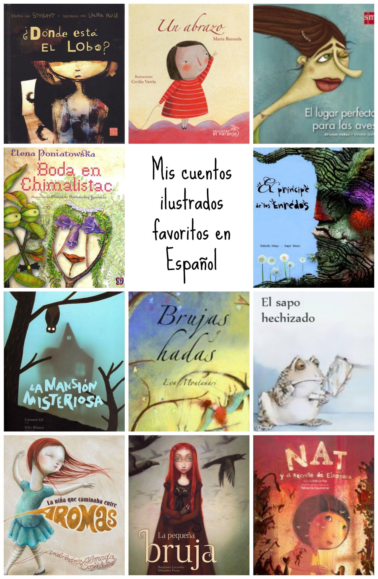 Mis Cuentos Ilustrados Favoritos En Español Mami Tales Spanish Books Bilingual Book Diverse Books