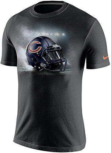 Nike Chicago Bears NFL Vapor Helmet Men s T-Shirt (Large c577d0e19